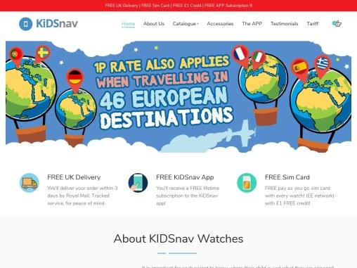 Kids Smart GPS Watch   Child GPS Tracker   GPS Tracker For Kids   Child Tracker Watch   Kidsnav