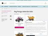 Kjøp Peg Peregoelektriskebiler| Peg Peregoelektriskebiler for barn