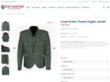Lovat Green Tweed Argyle Jacket