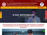 best colleges for biotechnology in coimbatore