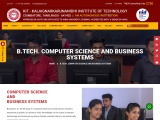 computer science and business systems course in coimbatore
