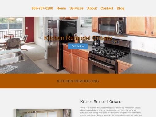 Kitchen Remodel Ontario California