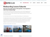 How Long Does it Take to Learn Kiteboarding Lessons?