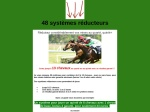 48 SYSTEMES REDUCTEURS PMU