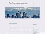 Klas Bergman - Från Amerika