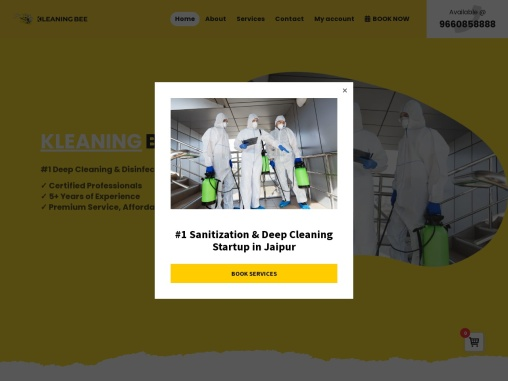 Sanitization Services in Jaipur   House Cleaning Company   KleaningBee