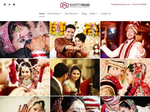'KnottyTales' is a group of innovative and creative photographers who come together to tell your wed