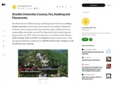 Shoolini University: Courses, Fees, Ranking and Placement
