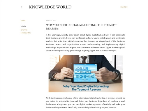 Why You Need Digital Marketing: The Topmost Reasons
