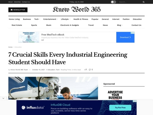 7 Crucial Skills Every Industrial Engineering Student Should Have