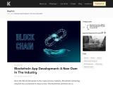 Blockchain App Development: A New Gem In The Industry