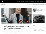How Blockchain In Finance Is All Set For Financial Revolution?