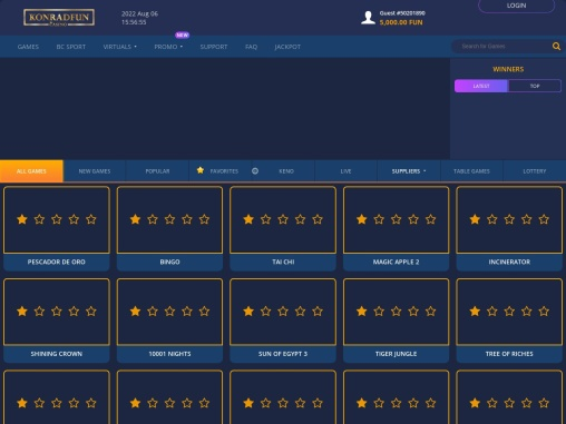 Play your favourite Crypto Casino games