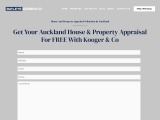 Free Property Appraisal | House Valuation | Auckland | NZ