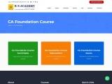 CA Foundation Coaching Classes