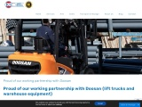 Proud of our working partnership with Doosan