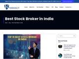 top 10 best stock broker in India