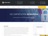 ISO, CE Mark, VAPT & HACCP Certification Company in Bahrain | Kwikcert