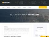 ISO Certification in Sweden   KwikCert