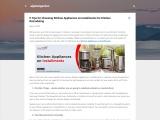 Kitchen Appliances on Installments Online