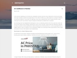 Air conditioners price in Pakistan