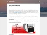 Why buy an online deep freezer?