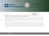 Certified Financial Planner Orleans