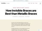 How Invisible Braces are Best than Metallic Braces
