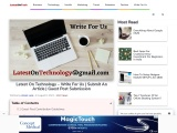 Write For Us – Latest On technology