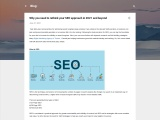 Why you need to rethink your SEO approach in 2021 and beyond