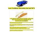 LES VIDEOS SECRETES DU TURF N1
