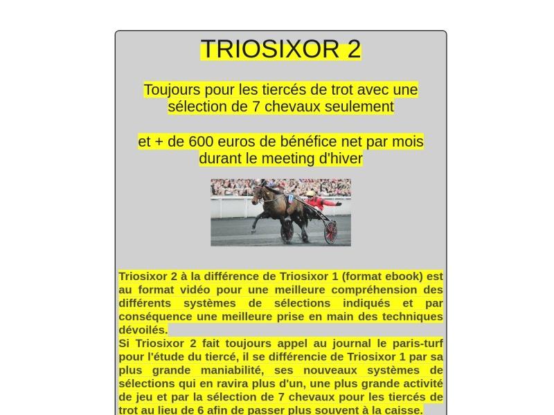 triosixor 2