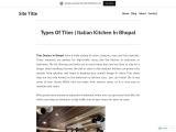 Types Of Tiles   Italian Kitchen In Bhopal