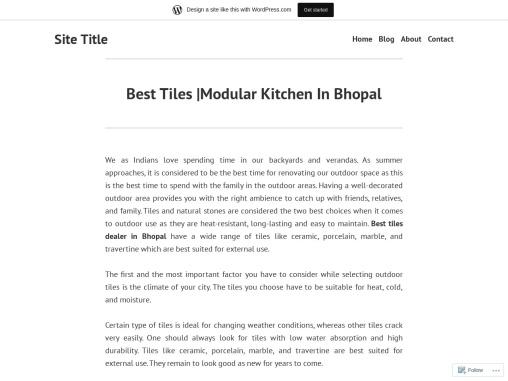 Best Tiles |Modular Kitchen In Bhopal