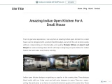 Amazing Indian Open Kitchen For A Small House
