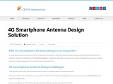 4G Smartphone Antenna Design Solution