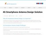 4G Smartphone Antenna Design Solution