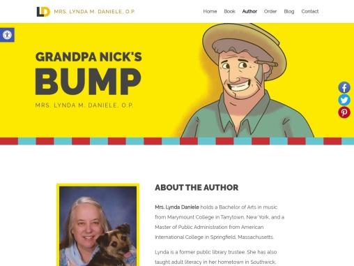 Grandpa Nick's Bump  by Lynda Daniele