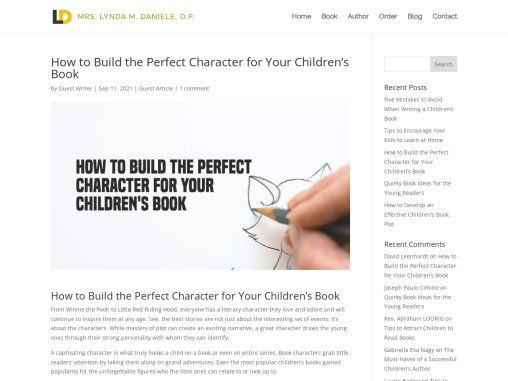 How to Build the Perfect Character for Your Children's Book