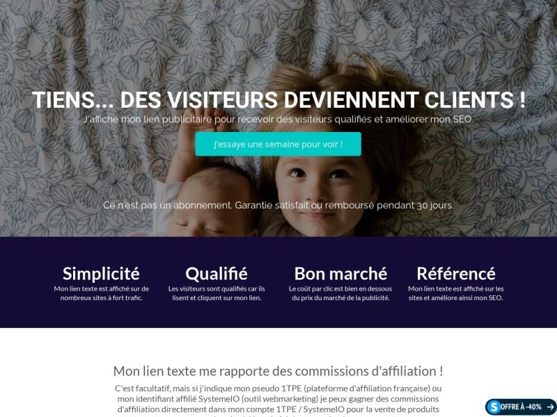 club affiliation facile -pub 7jours -webmarketing