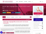 Online Courses – TEFL Course | Personal Trainer | Sign Language