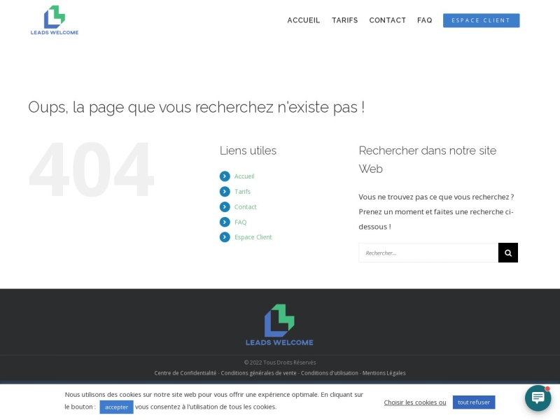 3000 leads par mois - leads welcome