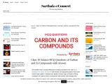 Class 10 Science MCQ Questions of Carbon and Its Compounds with Answer