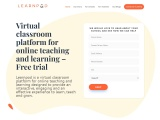 Virtual classroom software in India