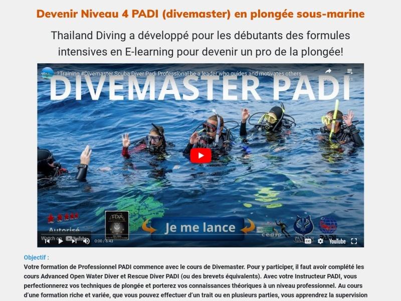 devenir niveau 4 padi en plongee sous-marine