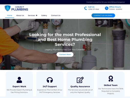 Professional And Home Plumber Services