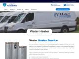 Water Heater Service – Legacy Plumbing