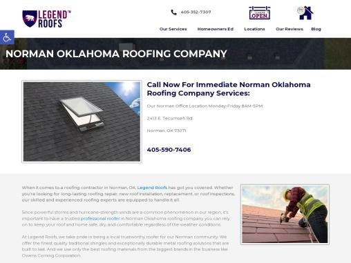 Roofing Contractors Norman Oklahoma