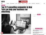 Top 11 IT consulting companies in New York can help your business run effectively