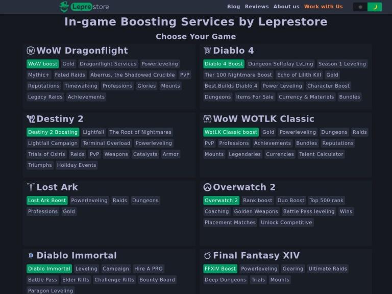Leprestore screenshot